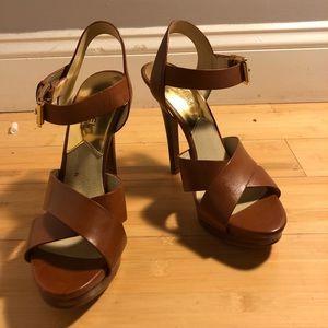 Michael kors heels 7.5
